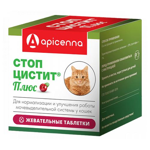 Стоп-цистит Плюс жевательные таблетки для кошек