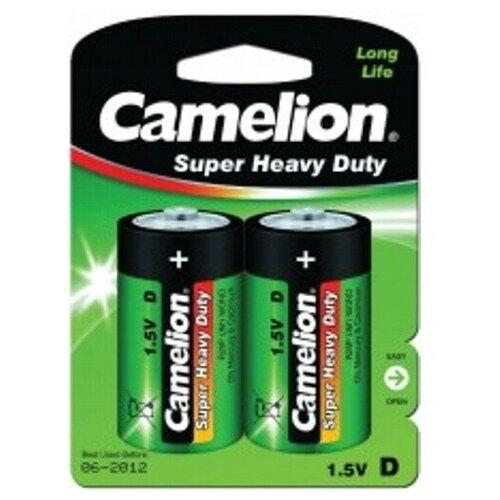 Фото - Батарейка D солевая Camelion R20-2BL Heavy Duty в блистере 2шт. батарейка kodak r20 extra heavy duty kdhz 24 144 6912