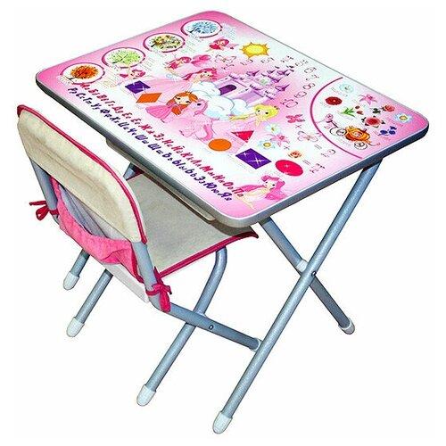 Набор мебели Дэми № к2/1 VIP столешница Принцессы (серебристый) детские столы и стулья дэми набор мебели 1 радуга