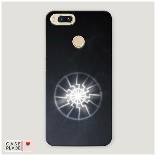 Чехол Пластиковый Xiaomi Mi A1 Черное солнце