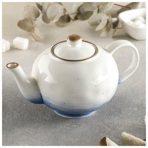 Чайник заварочный Доляна Нептун, 600 мл доляна чайник заварочный восточная ночь 600 мл зеленый