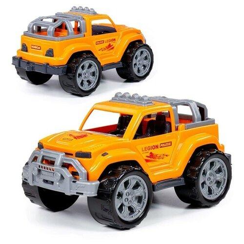 Купить Автомобиль Легион №2 (оранжевый) (в сеточке), Полесье, Машинки и техника