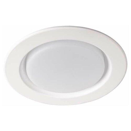 Настенно-потолочные светильники JazzWay Светильник PLED DL5 12Вт 4000К WH IP40 Jazzway 5026421
