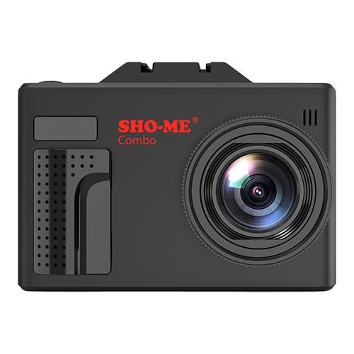 Радар-детектор с видеорегистратором Sho-Me Combo Note MStar автомобильный видеорегистратор sho me combo note mstar