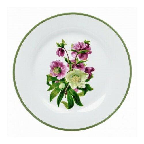 Тарелка обеденная Dasen Садовый букет 23 см салатник dasen бежевая классика диаметр 14 см