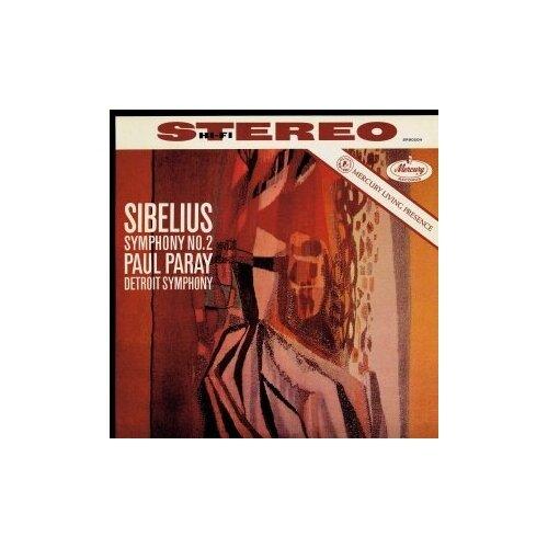 Фото - Виниловые пластинки, Mercury, PAUL PARAY - Sibelius: Symphony No.2 (LP) sibelius sibelius symphony no 2