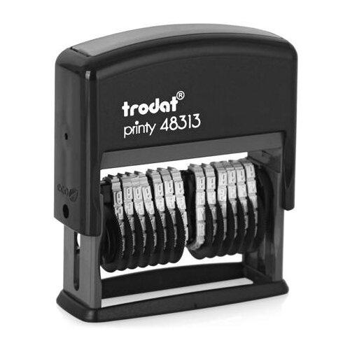 Фото - Нумератор Trodat 48313 автоматический прямоугольный нумератор trodat 4836 printy черный