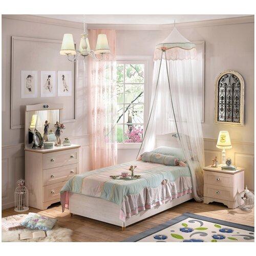 Детская кровать Cilek Flora шкафы cilek купе flora