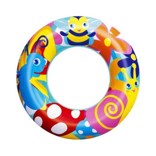 Фото - Надувной круг Насекомые, 56 см, от 3 до 6 лет, BestWay, арт. 36013-насек, круг надувной bestway 36057 76 см