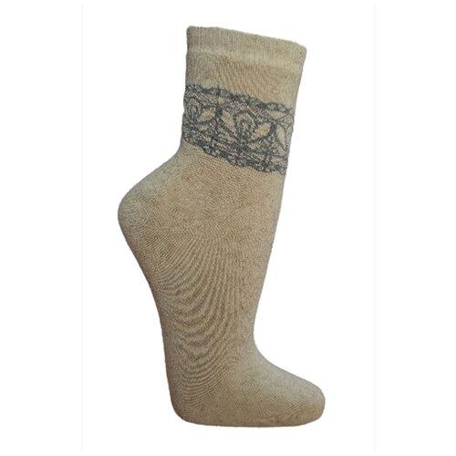 Носки женские Гамма С665, Бежевый, 25-27 (размер обуви 40-41)