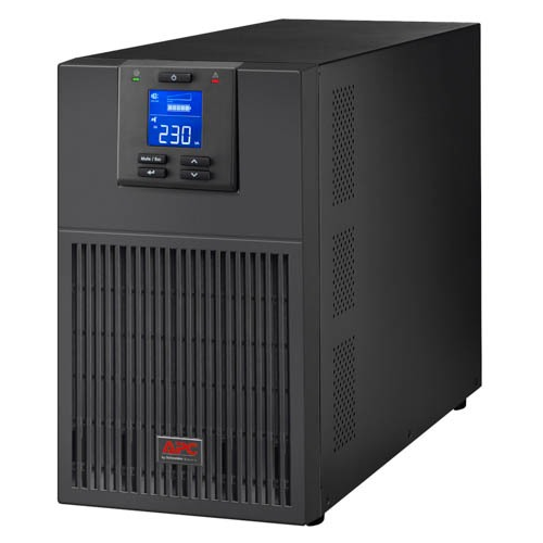 APC Easy UPS SRV, 3000VA/2400W, On-Line, Tower, LCD, USB, SmartSlot,PowerChute, Black - SRV3KI