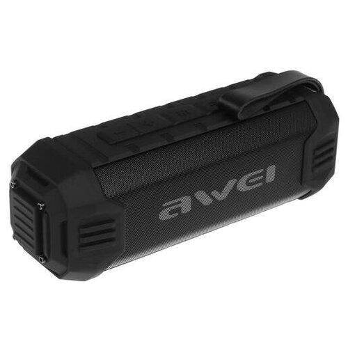 Портативная аудиосистема Awei Y280 черный/ Блютуз колонка/ Портативная колонка/ Портативная акустическая система/ Колонка/
