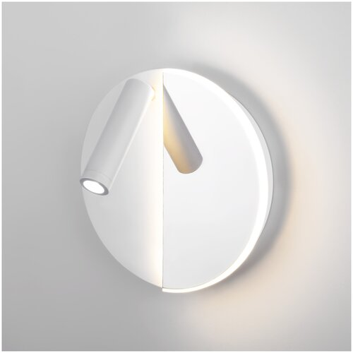 Настенный светильник Elektrostandard Drom Drom LED белый/хром (40105/LED)