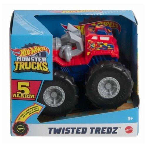 Машинка Mattel Hot Wheels Монстр трак (увеличенная) иннерционная машинка mattel hot wheels трейлер с прицепом