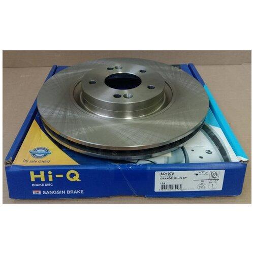 Диск тормозной передний Хендай I40 2011-2015, Хендай IX35 2013 - 2015, Киа оптима 2010 - 2015 / арт. SD1070 / бренд Sangsin Brake