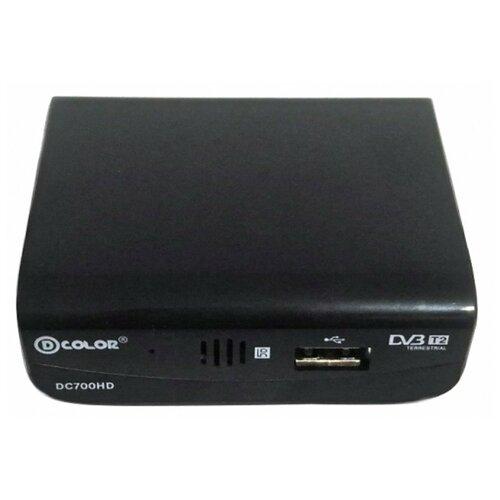D-Color Эфирный цифровой приемник DVB-T2 DC 700 HD