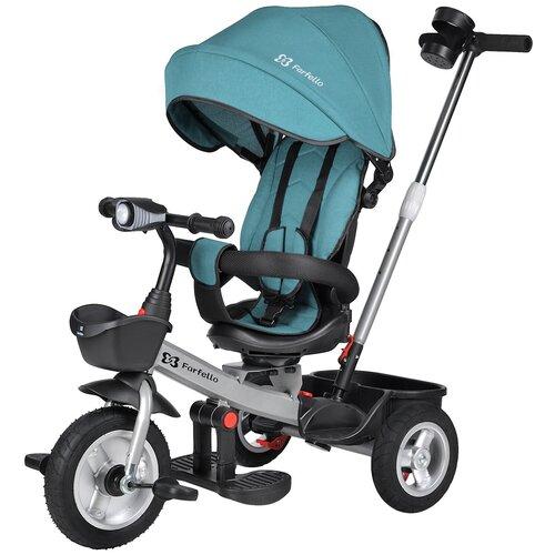 Купить Детский трехколесный велосипед Farfello 6299 Синий 6299, Трехколесные велосипеды
