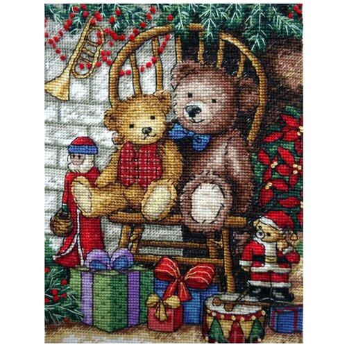 Набор для вышивания Classic Design 4377 Новогодние подарки 14х20 см
