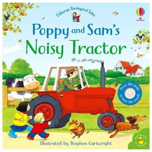 Купить Poppy and Sam's: Noisy Tractor, Usborne, Детская художественная литература