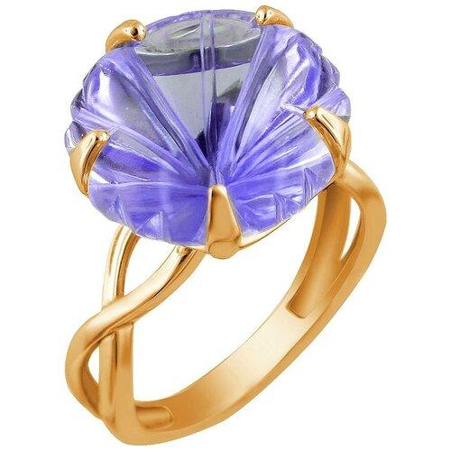 Эстет Кольцо с 1 аметистом из красного золота 01К317916-2, размер 17 эстет кольцо с лазуритом и бриллиантами из жёлтого золота 01к6313305 2 размер 17