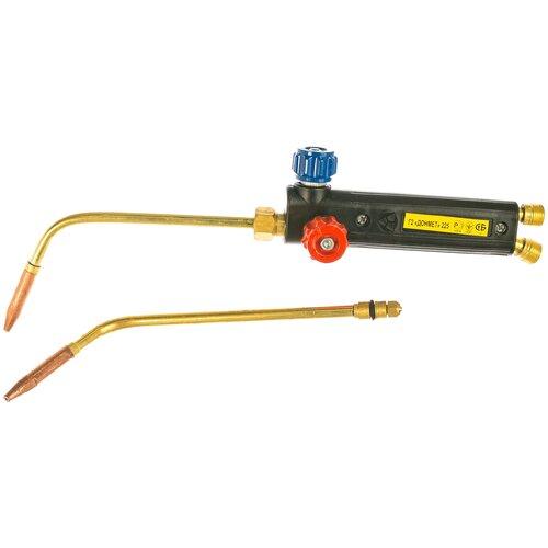 Фото - Газосварочная горелка инжекторная ДОНМЕТ Г2 Донмет 225 (225.000.03) газосварочная горелка инжекторная донмет гзу 247