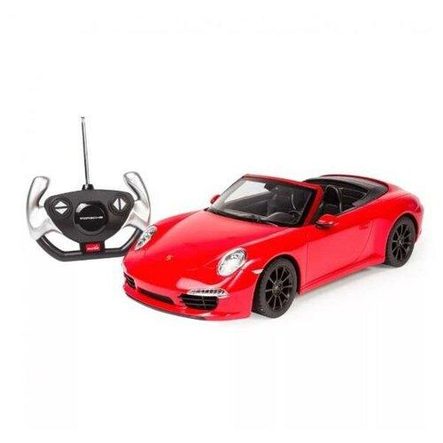 Купить Машина р/у 1:14 Porsche 911 Carrera S, со световыми эффектами, 40.3*18.9*10.2см, Rastar, Радиоуправляемые игрушки