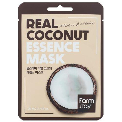 Купить Тканевая маска для лица с экстрактом кокоса, 23 мл, Farmstay (280297)