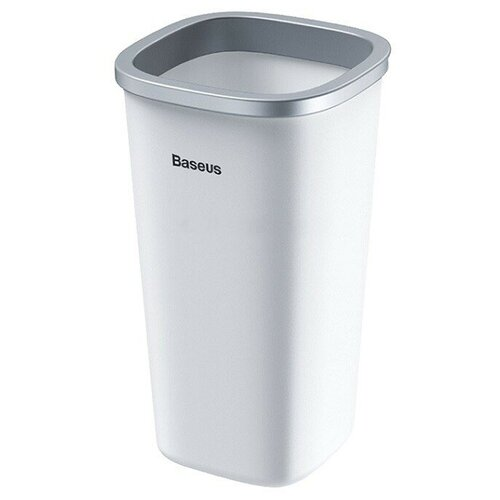 Автомобильный контейнер для мусора Baseus Dust-free Vehicle-mounted Trash Can белый
