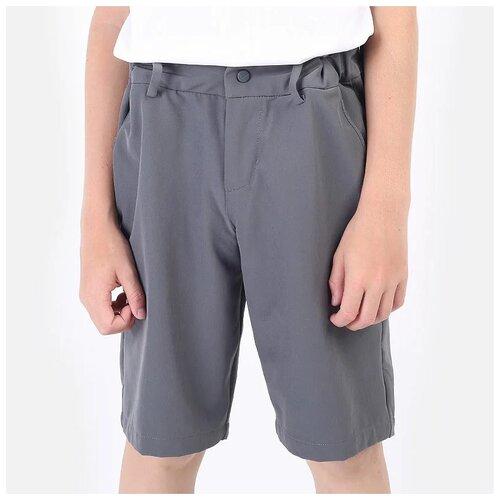 Фото - Бермуды NIKE размер M(137-147), серый nike толстовка для мальчиков nike sportswear размер 137 147