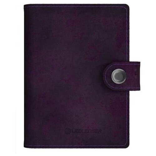Кошелек-фонарь LED Lenser Lite Wallet, 150 лм., аккумулятор, фиолетовый