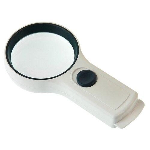 Фото - Лупа Veber 82018-L (3х, 75мм) лупа очки veber 9892g 10х 15х 20х 25х