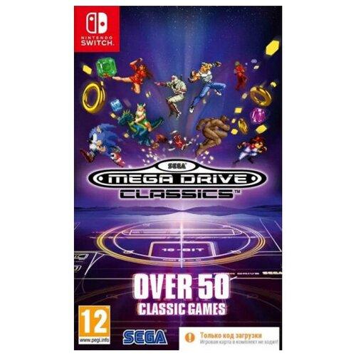 SEGA Mega Drive Classics. Код загрузки, без картриджа [Switch]