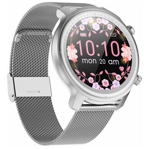 Часы Smart Watch Q1 GARSline серебристые (стальной ремешок)