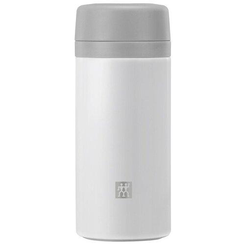 Термос для чая и фруктовой воды Thermo 420 мл, нержавеющая сталь, цвет белый, Zwilling J.A. Henckels, 39500-511