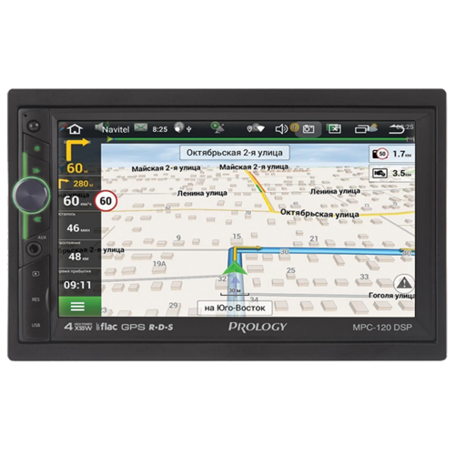Prology Мультимедийный центр Prology MPC-120 DSP — навигация, Android 9.0, Wi-Fi, 7