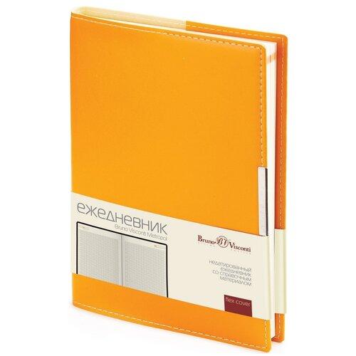 Купить Ежедневник Bruno Visconti А5, Metropol, оранжевый, Ежедневники