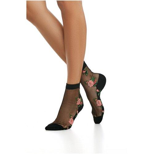 Носки женские с вышивкой