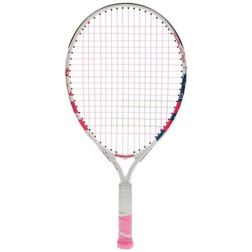 Ракетка для большого тенниса Babolat B`FLY 21 21'' 000 белый/розовый ракетка для большого тенниса babolat b fly 23 gr000 140244 детская 7 9 лет фиолет бирюзовый