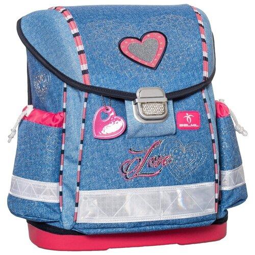 Купить Belmil Ранец Classy Love (403-13/405), голубой, Рюкзаки, ранцы