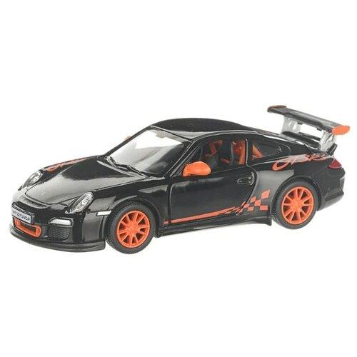 Купить Гоночная машина Serinity Toys 2010 Porsche 911 GT3 RS (5352DKT) 1:36, 12.5 см, черный, Машинки и техника