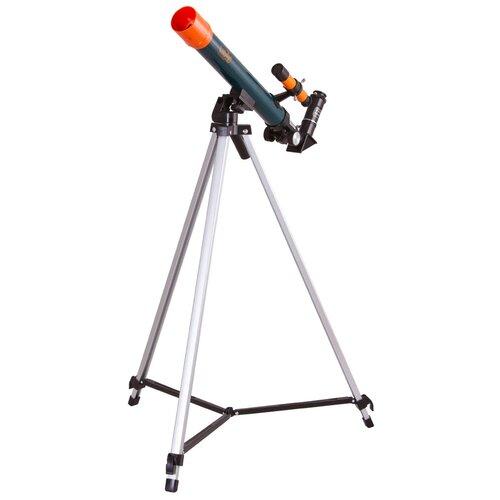 Фото - Телескоп LEVENHUK LabZZ T1 синий/оранжевый/черный лупа levenhuk labzz c3 синий оранжевый