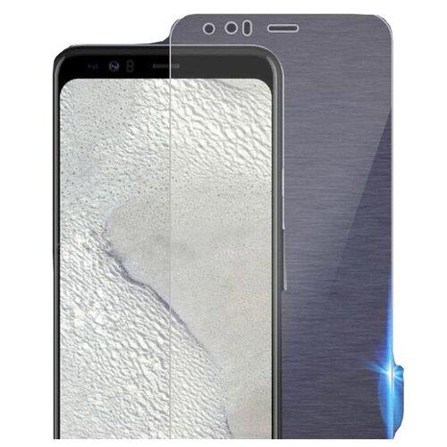 Защитное противоударное стекло MyPads на Google Pixel 4 XL с олеофобным покрытием (только на плоскую поверхность экрана не закрывает края экрана на 2-3мм)