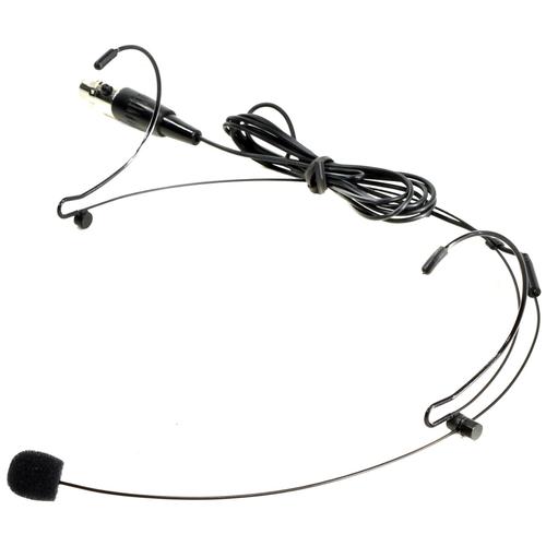 Микрофон конденсаторный головной NADY HM-10 + Mini-XLR connector (черный)