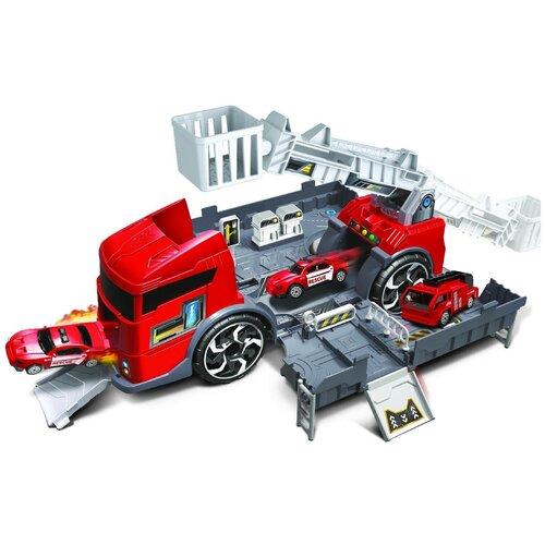 Купить Handers HAC1610-101, красный/серый, Детские парковки и гаражи