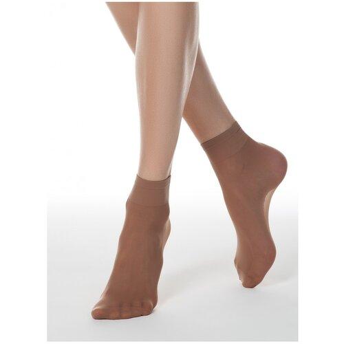 Капроновые носки Conte Elegant Tension Soft 40 14С-55СП, размер 23-25, bronz