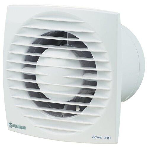 Фото - Вытяжной вентилятор Blauberg Bravo 100 S, белый 14 Вт вытяжной вентилятор blauberg bravo 125 белый 16 вт
