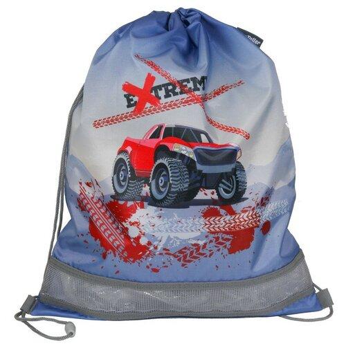 MagTaller Мешок для обуви Monster Truck 31816-18, голубой недорого