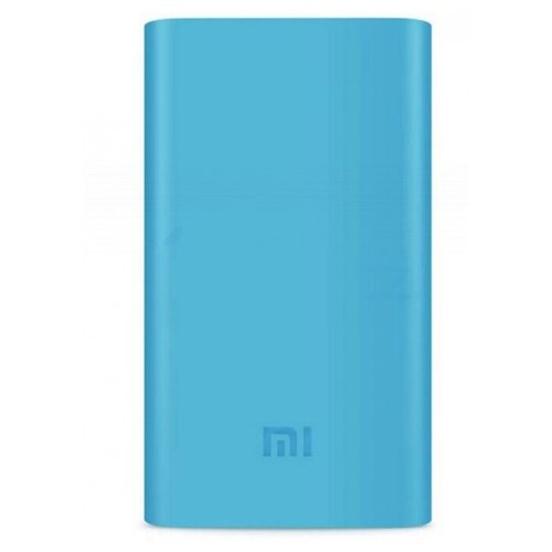 Чехол для внешнего аккумулятора Xiaomi MI Power 2 10000 mAh голубой