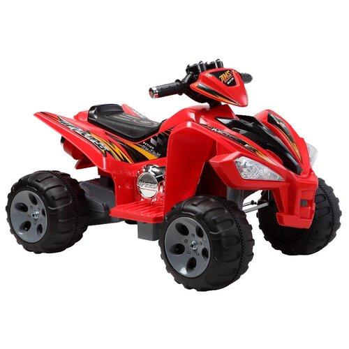 квадроцикл hoffmann 49482 1 43 красный RiverToys Квадроцикл Quatro JS 007, красный