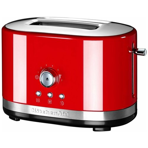 Фото - Тостер KitchenAid 5KMT2116EER, красный тостер kitchenaid 5kmt2204efp морозный жемчуг